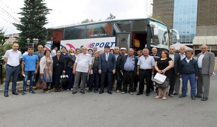 50 əlilliyi olan şəxs Nabran istirahət mərkəzinə yola salınıb