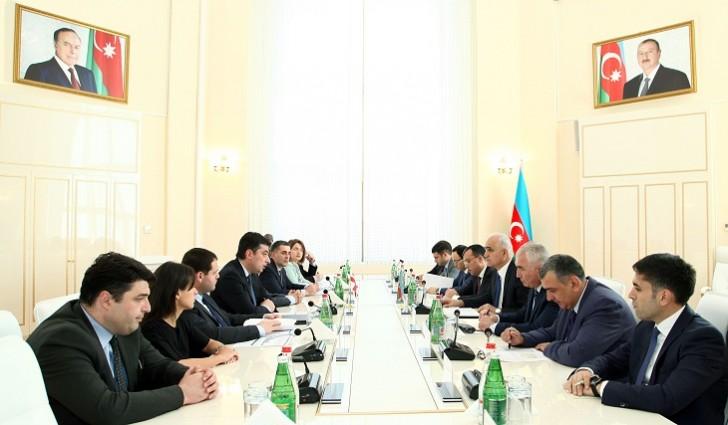 Azərbaycan-Gürcüstan iqtisadi əməkdaşlığının inkişaf istiqamətləri müzakirə olunub