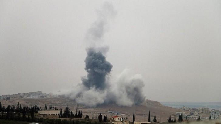 İran Suriyaya raket zərbələri endirdi