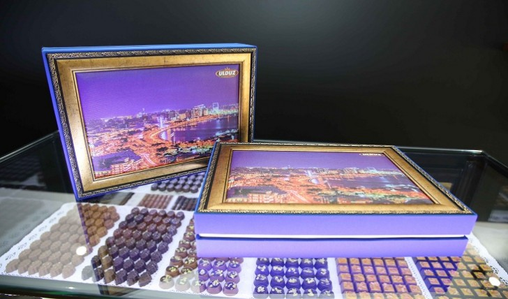 """Bakıda ilk dəfə """"Ulduz Premium Chocolate"""" butiki açıldı"""