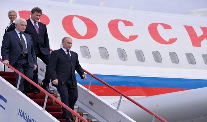 Putin Krasnodara gəldi və