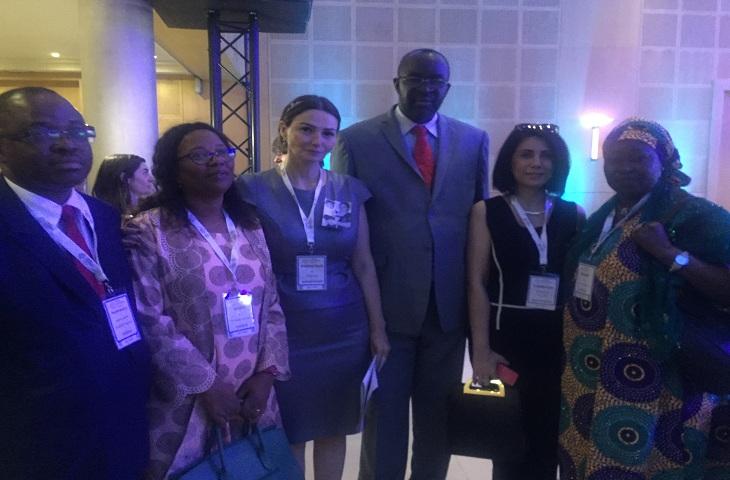 Qənirə Paşayeva Qərbi Afrika Ölkələri İqtisadi Birliyi (ECOWAS) Parlamentin ...