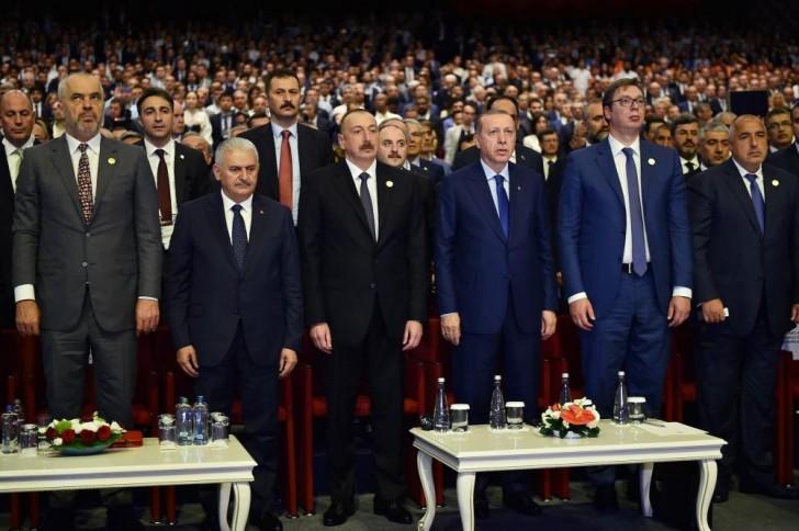 İlham Əliyev 22-ci Dünya Neft Konqresində iştirak edir