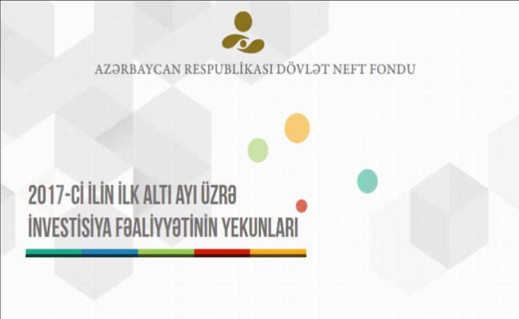 ARDNF iki rüb üzrə gəlir və xərclərə dair məlumatı açıqladı