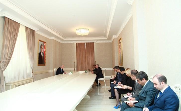 Şahin Mustafayev Xırdalanda vətəndaşları qəbul edib