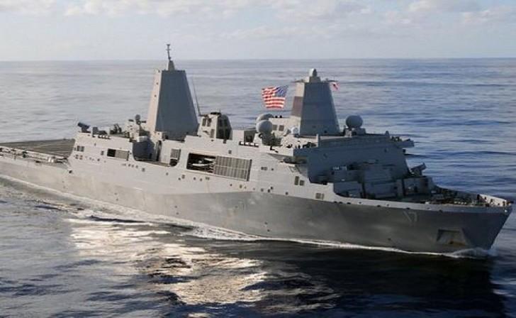 ABŞ hərbi gəmisi İran gəmisinə atəş açdı