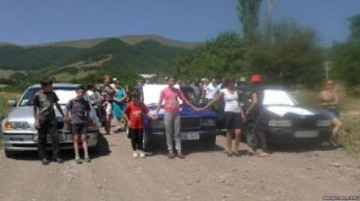 Ermənistanda etiraz aksiyası keçirildi-