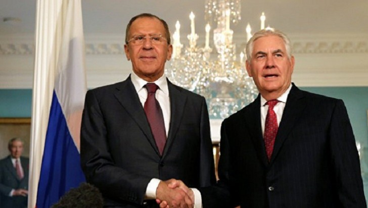 Tillerson Lavrovla görüşəcək