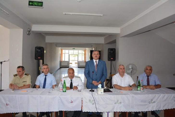 Yuxarı Qaradağlı kəndində səyyar qəbul-görüş keçirildi