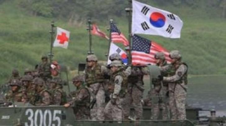 ABŞ və Cənubi Koreya birgə hərbi təlimlərə başlayır