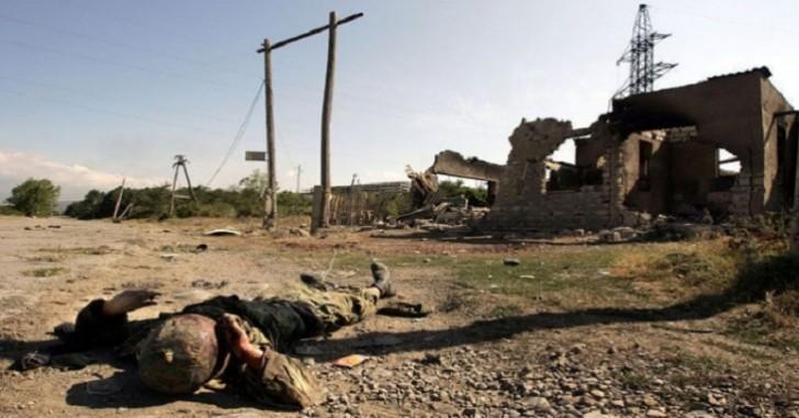 Ermənistan ordusunun kapitanının meyiti tapıldı