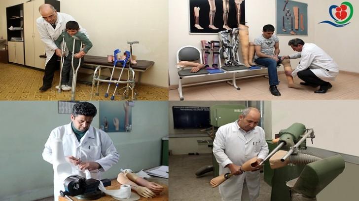 Əlilliyi olan şəxslər protez-ortopedik məmulatlarla təmin edilib