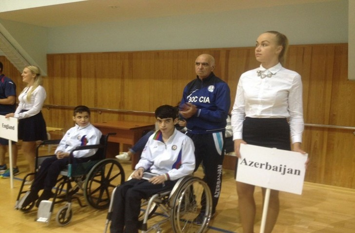 Uşaq paralimpiyaçılarımız Vətənə qələbə ilə döndü
