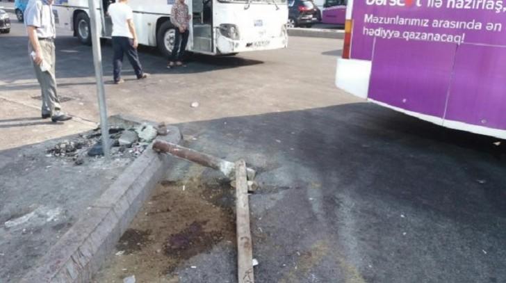 Avtobus qəzası: