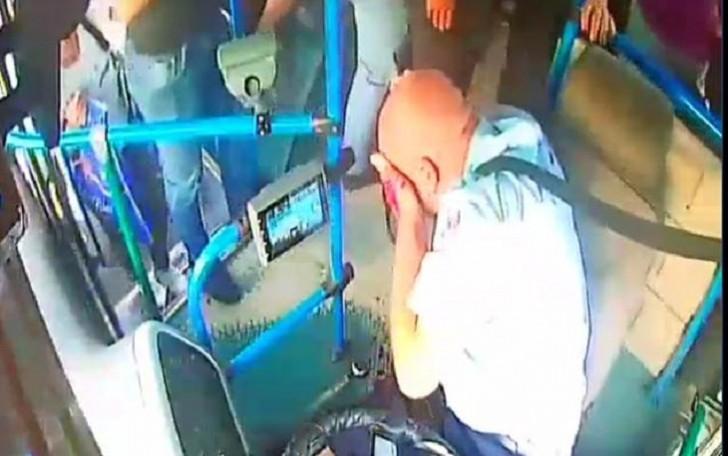Bakıda avtobus sürücüsü vəhşicəsinə döyüldü-