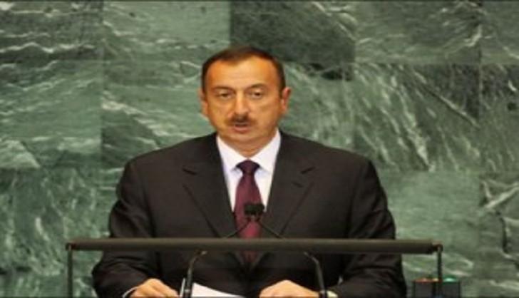 İlham Əliyev BMT-də çıxış edir-