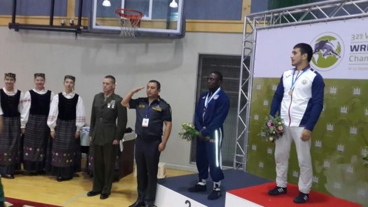 Hərbçi idmançılarımız ilk gündə 5 medal qazandı-
