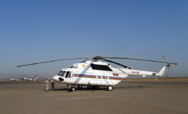 Azərbaycan yenidən Gürcüstana helikopter göndərdi