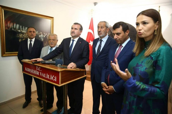 Qənirə Paşayeva Türkiyənin Gənclər və İdman Naziri ilə görüşüb
