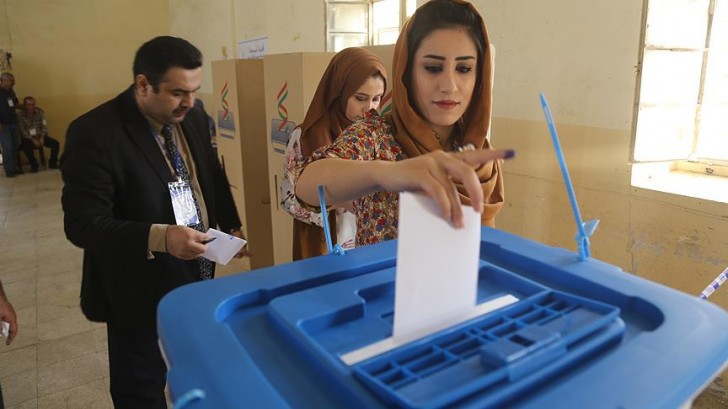 Kürdlərin referendumu başa çatdı-