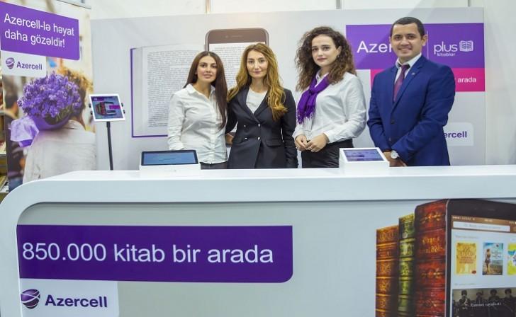 """Azercell """"Bookmate"""" layihəsi ilə V Bakı Beynəlxalq Kitab Sərgi-Yarmarkasında"""