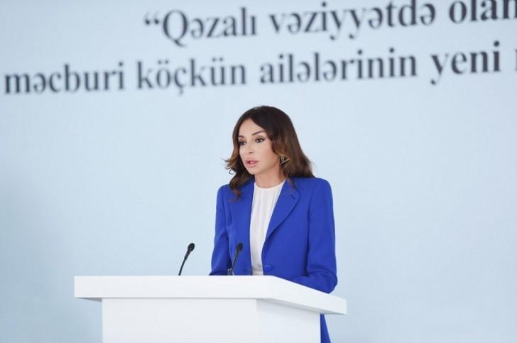 Mehriban Əliyevadan İlham Əliyev haqda xoş sözlər