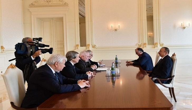 Prezident ATƏT-in Minsk qrupunun həmsədrlərini qəbul edib