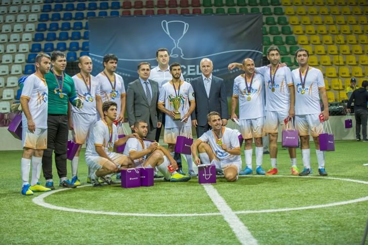 Azercell-in korporativ abunəçiləri arasında keçirilən I Futbol Turnirinin qalibi bəlli oldu