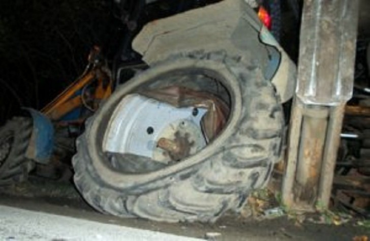 Göyçay sakini traktorun təkəri altında qalaraq öldü