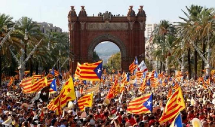 Barselonanı etiraz aksiyaları bürüdü