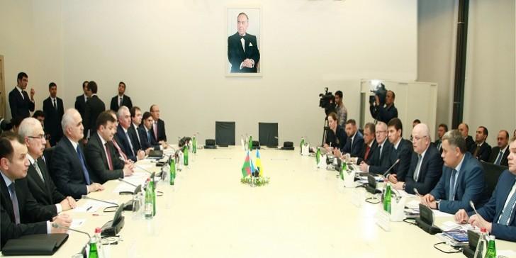 Azərbaycan-Ukrayna işgüzar görüşü keçirilib