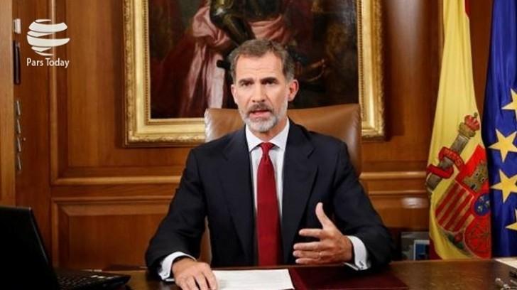 İspaniya kralı Kataloniyanın gələcəyi barədə