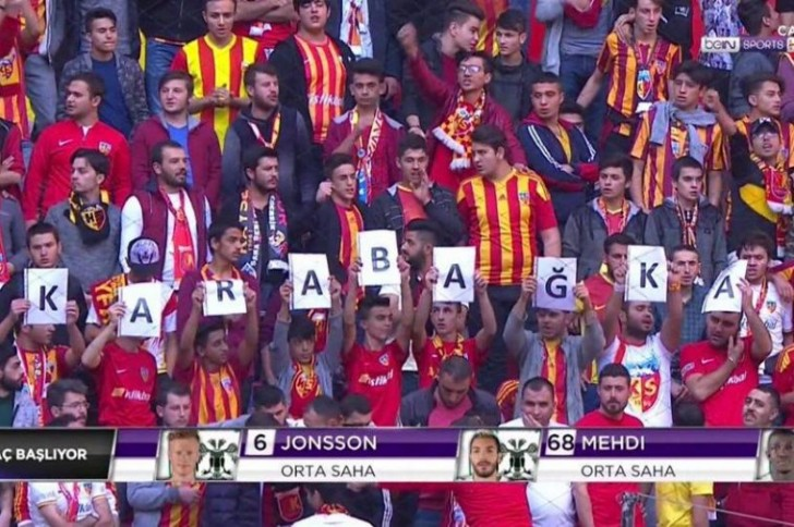 """Türk azarkeşlərdən """"Qarabağ""""a"""