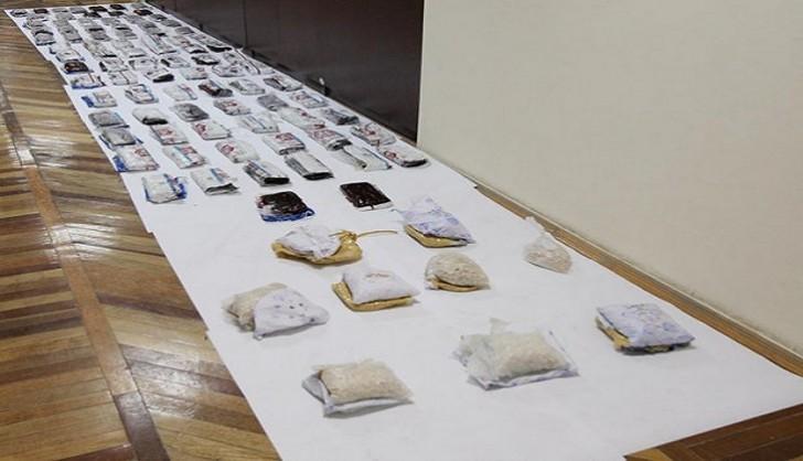 Biləsuvarda külli miqdarda narkotik saxlanılıb