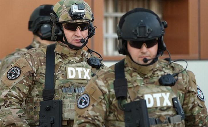DTX antiterror əməliyyatlarının görüntülərini yaydı-