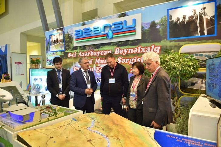 """""""Azərsu"""" """"Caspian Ecology"""" sərgisində xüsusi pavilyonla iştirak edir-"""