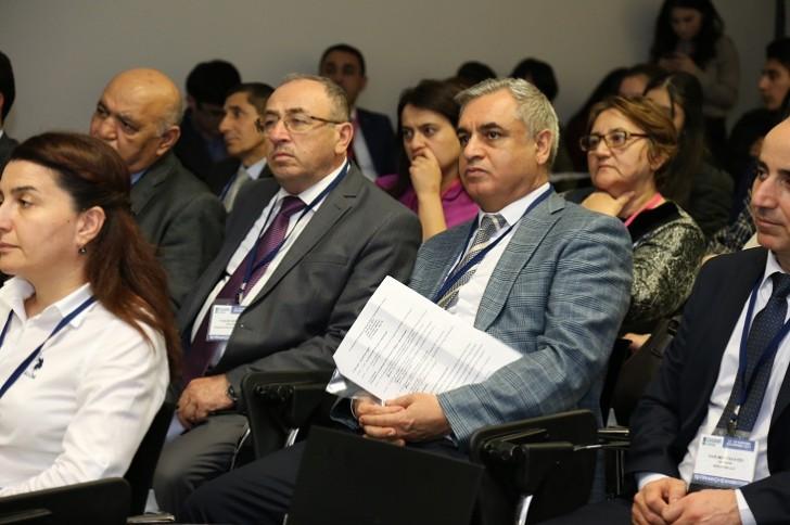 """""""Caspian Ecology"""" 8-ci Azərbaycan Beynəlxalq Ətraf Mühit sərgisi çərçivəsində konfrans keçirilib"""