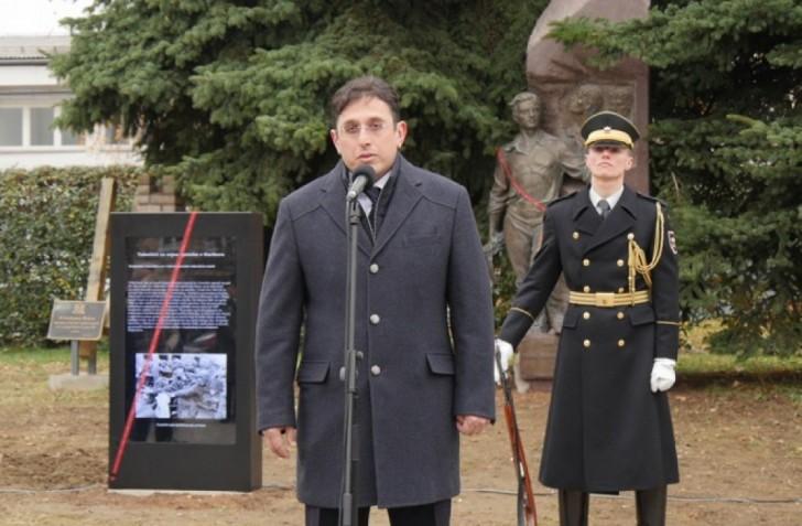 Sloveniyada Mehdi Hüseynzadənin abidəsi ucaldılıb-