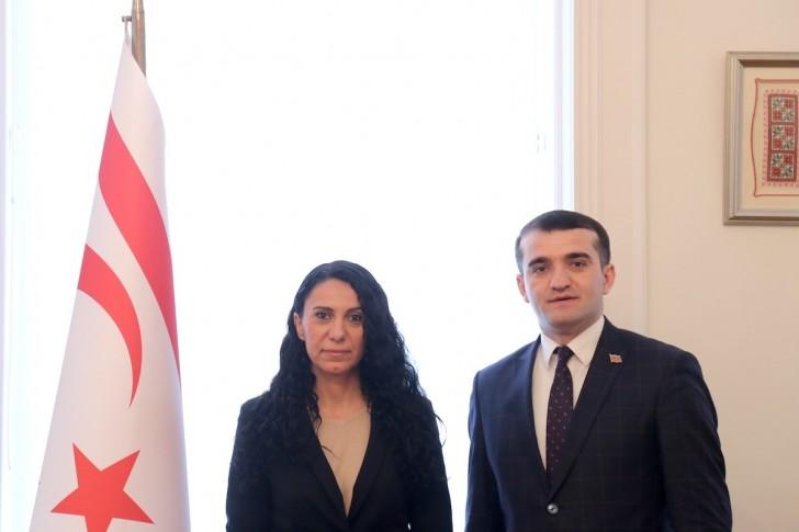 Əhməd Şahidov Şimali Kipr Türk Cümhuriyyətinin Macarıstandakı səfirliyini ziyarət edib