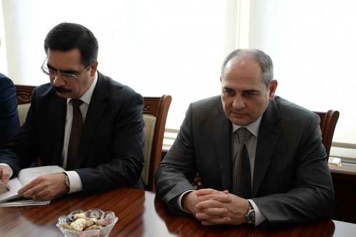 Tahir Budaqov UNİCEF-in regional direktoru ilə görüşüb-