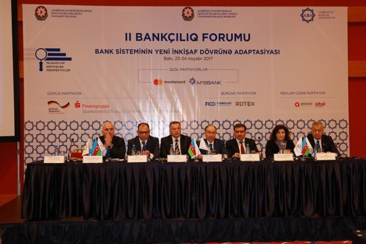 II Bankçılıq Forumu keçirilib