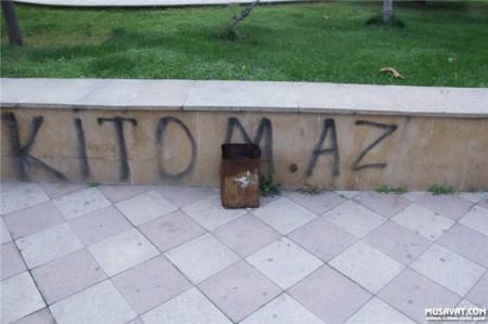 """Xaləddin İsgəndərov """"Heydər Əliyev parkı""""nı hissə-hissə satır-"""