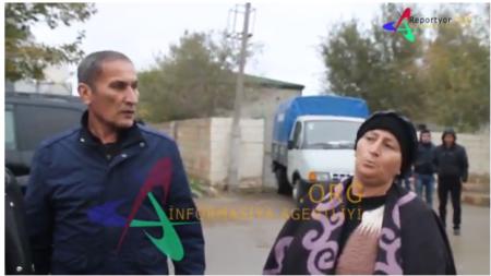 Qaradağ Rayon Polis İdarəsi dələduzu müdafiə edir-ETİRAZ AKSİYASI /VİDEO