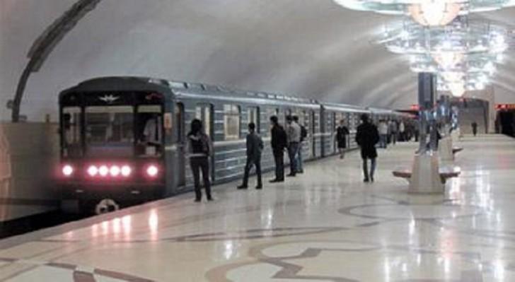Bakı metrosunda təhlükəli anlar yaşandı