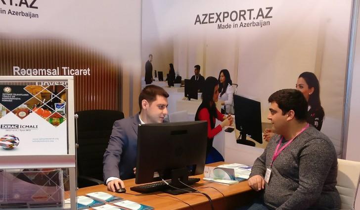 """Azexport """"Bakutel 2017"""" sərgisində təmsil olunur"""