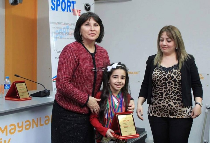 """Dəniz Həşimova """"2017-ci ilin ən yaxşıları"""" nominasiyasına layiq görülüb"""