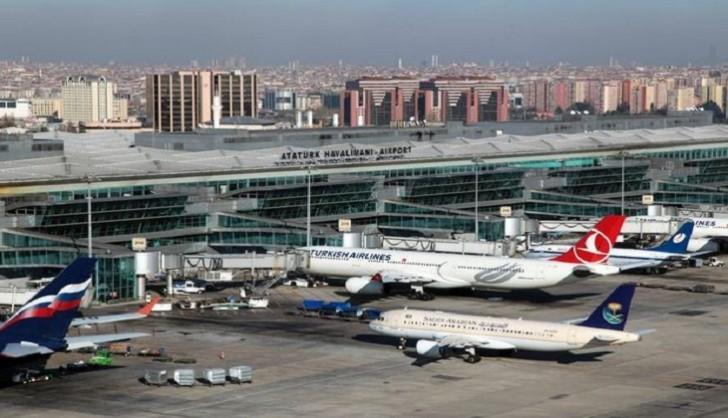 Atatürk hava limanında baş vermiş qəzada 8 nəfər yaralanıb