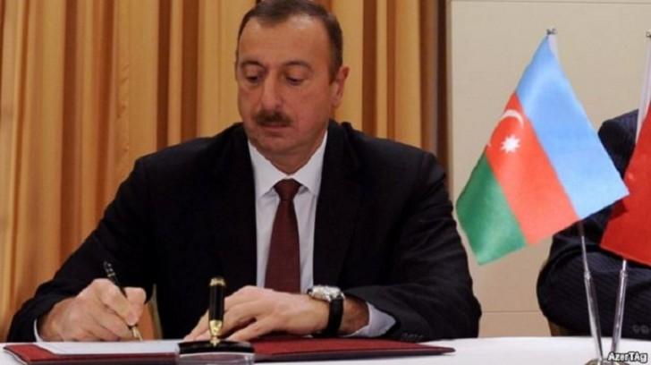 Prezident Zeynal Nağdəliyevin oğluna rütbə verdi