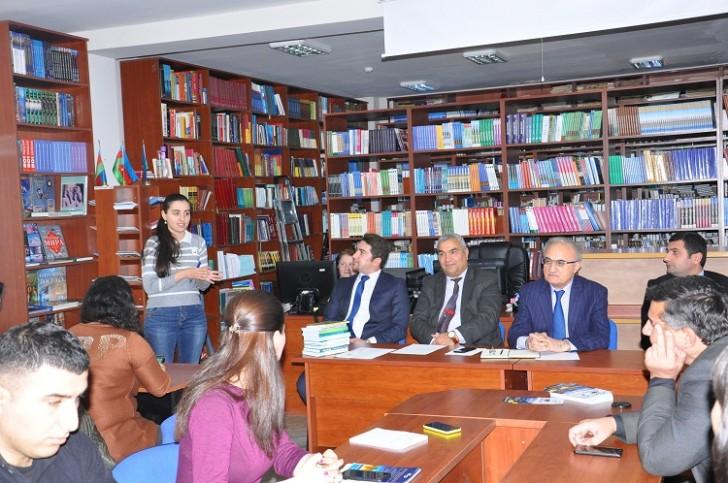 """ATMU-da """"Turizm biznesi: təhsildən karyera doğru"""" adlı tədbir keçirilib-"""