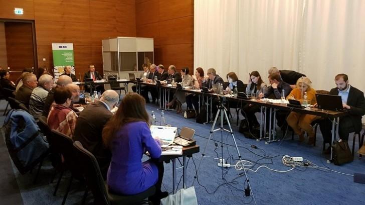 MŞ sədri Tiflisdə beynəlxalq toplantıda iştirak edib